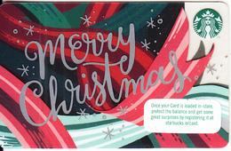IRELAND - Merry Christmas, Starbucks Card, CN : 6156, Unused - Cartes Cadeaux