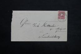 ALLEMAGNE - Enveloppe De Marne Pour Friedrichskoog En 1888 , Affranchissement Plaisant - L 25440 - Deutschland
