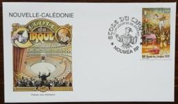 Nouvelle-Calédonie - FDC 2002 - YT N°875 - Ecole Du Cirque - FDC