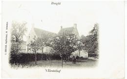 BURGHT - Zwijndrecht - T' Sleutelhof - Relaisstempe - Cachet - Zwijndrecht