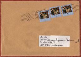 Brief, MeF Spitzweg Sk, Oberstenfeld Ueber Briefzentrum 70 Nach Stuttgart 2009 (70925) - BRD