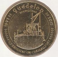 MONNAIE DE PARIS 89 TREIGNY Chantier Médiéval De Guédelon-Ils Bâtissent Un Château Fort 1997-2017 - 2017
