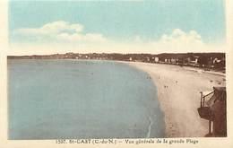 - Côtes D Armor -ref-C973-  Saint Cast - Vue Generale De La Grande Plage - Editeur Riviere Bureau - Pons - N° 1597 - - France