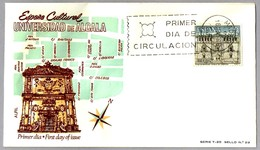 UNIVERSIDAD DE ALCALA DE HENARES. SPD/FDC Madrid 1966 - Arquitectura