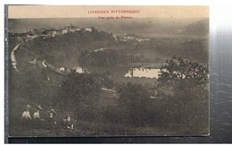 CPA-1911-54-LIVERDUN-VUE PRISE DU PLATEAU-ANIMEE-4 FEMMES ASSISENT DEVANT- - Liverdun