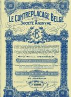 LE CONTREPLACAGE (Dieghem) - Agriculture
