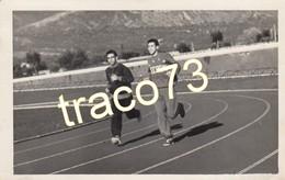 FORMIA _1956 / Scuola Nazionale Di Atletica - Giovani In Allenamento - Cartolina Fotografica _ Ediz. Privata - Latina