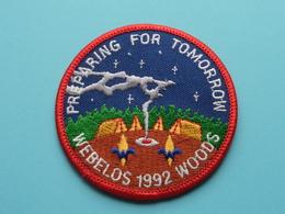 WEBELOS 1992 WOODS ( Preparing For Tomorrow ) Zie Foto Voor Detail ! - Scoutisme