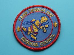 CAMP SEQUOIA 1991 ( Sequoia Council ) Zie Foto Voor Detail ! - Padvinderij