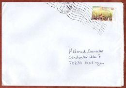 Brief, EF Hambacher Fest Sk, Briefzentrum 35 Nach Gerlingen 2009 (70929) - BRD