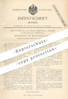 Original Patent - Ole Evenstad , Olaus Senstad , Rasten , Store Elvdalen  Norwegen   Hobelmesser   Hobel , Messer , Holz - Historische Dokumente