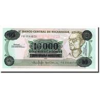 Billet, Nicaragua, 10,000 Córdobas On 10 Córdobas, Undated (1989), KM:158 - Nicaragua