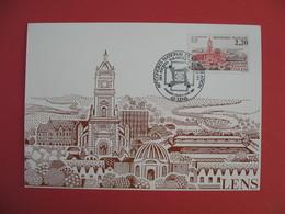 Carte Maximum 1987  N° 2476 - Lens - Cartes-Maximum