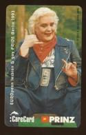 GERMANY Telefonkarte O 253 A 93 Care Card - Hella Von Sinnen - Auflage  2000 Stück - Siehe Scan -15560 - Deutschland