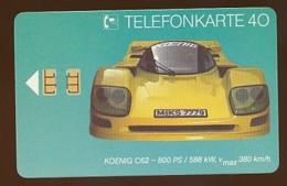 GERMANY Telefonkarte O 056 92 Koenig C 62 - Auflage  3000 Stück - Siehe Scan -15563 - Deutschland