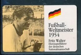 GERMANY Telefonkarte O 251 92 Fritz Walter - Fußball - Auflage  30 000 Stück - Siehe Scan -15566 - Duitsland