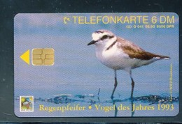 GERMANY Telefonkarte O 041 93 Vogel Des Jahres - Regenbogenpfeifer - Auflage  8 000 Stück - Siehe Scan -15569 - Deutschland