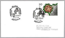 Matasellos EXFILNA'88. SPD/FDC Pamplona, Navarra, 1988 - Exposiciones Filatélicas