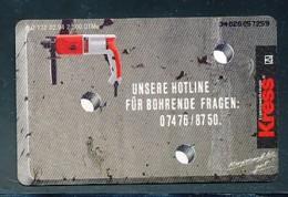 GERMANY Telefonkarte O 132 94 Kress - Auflage  2 500 Stück - Siehe Scan -15573 - Deutschland