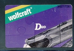 GERMANY Telefonkarte O 179 A 94 Wolfcraft - Auflage  1 000 Stück - Siehe Scan -15575 - Deutschland