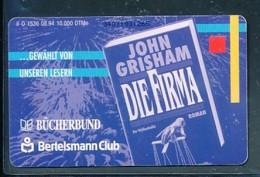GERMANY Telefonkarte O 1536 94 Bertelsmann Club - Auflage  10 000 Stück - Siehe Scan -15576 - Deutschland