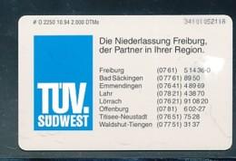 GERMANY Telefonkarte O 1536 94 Bertelsmann Club - Auflage  2 000 Stück - Siehe Scan -15577 - Deutschland