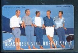GERMANY Telefonkarte O 107 95 Brax Hosen - Auflage  6 000 Stück - Siehe Scan -15582 - Deutschland