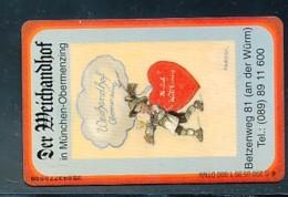 GERMANY Telefonkarte O 890 95 Der Weichandhof - Auflage  1 000 Stück - Siehe Scan -15583 - Allemagne