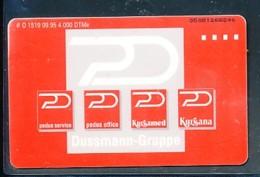 GERMANY Telefonkarte O 1519 95 Dussmann GmbH , Berlin  - Auflage  4 000 Stück - Siehe Scan -15586 - Deutschland