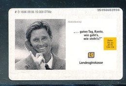 GERMANY Telefonkarte O 1656 95Landesgirokasse - Auflage  10 000 Stück - Siehe Scan -15587 - Deutschland