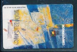GERMANY Telefonkarte O 185 96  Computerwoche - Auflage  6 000 Stück - Siehe Scan -15590 - Deutschland