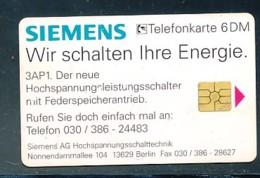 GERMANY Telefonkarte O 266 96  Siemens - Druck Kopfstehend- Auflage  1 000 Stück - Siehe Scan -15591 - Deutschland