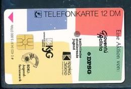 GERMANY Telefonkarte O 423 97  BDKJ Jugendferienwerk - Auflage  5 000 Stück - Siehe Scan -15596 - Deutschland