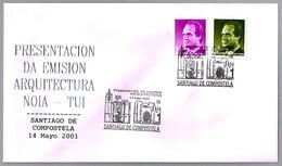 IGLESIA DE SAN MARTIÑO De NOIA Y CATEDRAL De Tui. Santiago De Compostela, Galicia, 2001 - Eglises Et Cathédrales