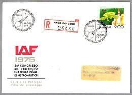 26 Conferencia FEDERACION INTERNACIONAL DE ASTRONAUTICA - 26th Congres IAF. SPD/FDC Porto 1975 - Europa