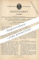 Original Patent - John Joseph Ravenscroft Patrick , Belleville , Dane , Wisconsin , USA   Künstliche Zähne   Zahnarzt - Historische Dokumente