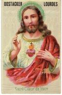 Oostacker. Lourdes. Sacré Coeur De Jésus. **** - Religions & Croyances