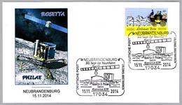 Sonda ROSETTA Y PHILAE - Kometa 67P. Neubrandenburg 2014 - Europa