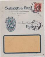 LSC - Devant D' Env; ILLUSTREE / PARIS / 1.8.11 - Postmark Collection (Covers)