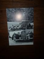 5 REPRODUCTIONS  Sur L'AUTOMOBILE - Voiture Ancienne Citroen Traction Décapotable HY Tube Simca Ariane Aronde Peugeot - Cartes Postales