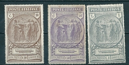 1923 CAMICIE NERE SERIE COMPLETA NUOVO - 1900-44 Victor Emmanuel III