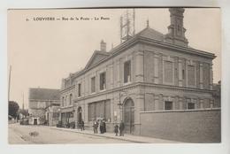 CPA LOUVIERS (Eure) - Rue De La Poste : La Poste - Louviers