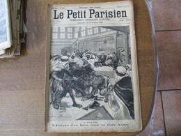 LE PETIT PARISIEN DU 17 JUIN 1894 L'ENTREE D'UN LION DANS UN CAFE ARABE,LES VELOCIPEDES AU BOIS DE BOULOGNE,GENERAL DE G - Journaux - Quotidiens