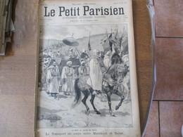 LE PETIT PARISIEN DU 24 JUIN 1894 LA MORT DU SULTAN DU MAROC,LES ECHASSIERS LANDAIS A PARIS UNE COURSE RUE SPONTINI - Journaux - Quotidiens