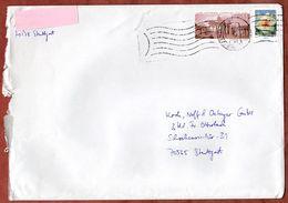 Brief, MiF Narzisse Sk U.a., Innerhalb Stuttgart Ueber Briefzentrum 70, 2009 (70934) - BRD