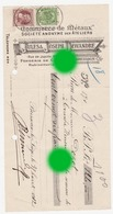 BRESSOUX LIEGE Ateliers JULES  & JOSEPH DEWANDRE   1912 Pour Dozot Entrepreneur à Cerexhe Heuseux - Lettres De Change