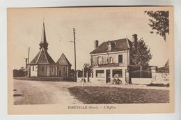 CPSM IRREVILLE (Eure) - L'Eglise - France