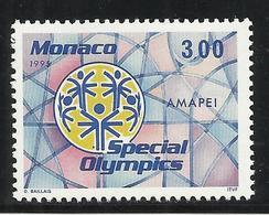 MONACO , 3 Frs , Spécial Olympics International à New-Haven ( Etats-Unis ) , 1995 , N° YT 1974 , NEUF ** - Monaco