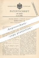 Original Patent - Victor Knecht , Horgen , Schweiz , 1900 , Spannfutter Für Bohrer   Bohrmaschine   Bohren !!! - Historische Dokumente