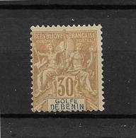 BENIN - BEAU TIMBRE NEUF  * N° 28 - DE 1893. - Bénin (1892-1894)